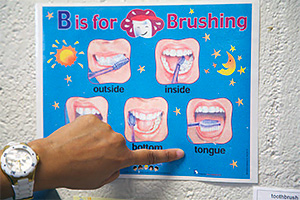 B is for Brushing Poster
