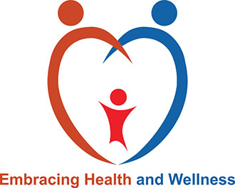 Logo for embracing health and wellness series
