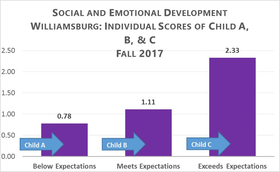 Figure 4. Social and Emotional Development: Individual Scores
