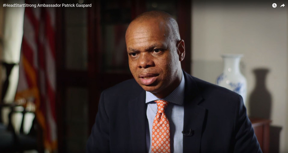 Ambassador Patrick Gaspard youtube video thumbnail