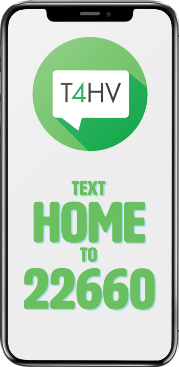 Text4HomeVisitors phone interface