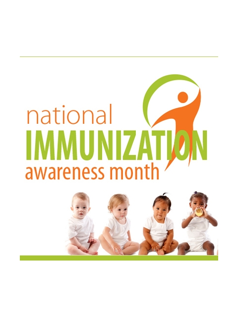 logo for national immuinization awareness month 2016